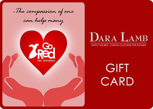 $500 GO Red for Women Gift Card