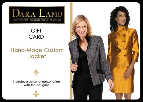 DARA LAMB Gift Certificate - Custom Jacket
