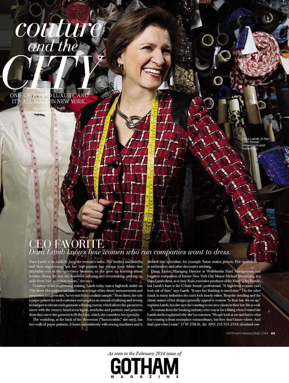 Couture and the City Gotham Magazine