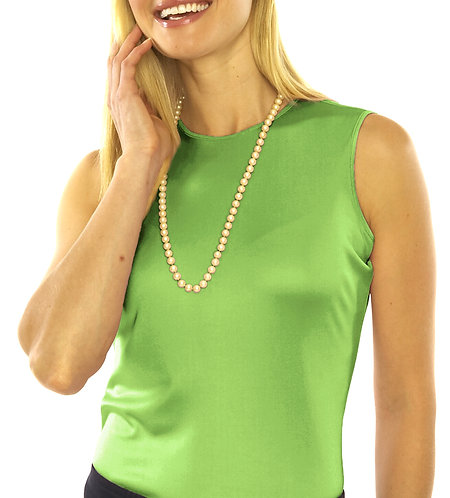 Round Neck - Apple Green