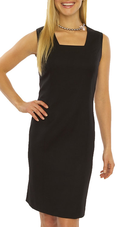 Square Neck Sheath Dress  - Regularly $1298, NOW