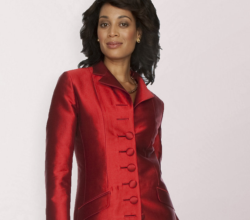 Women's custom suit