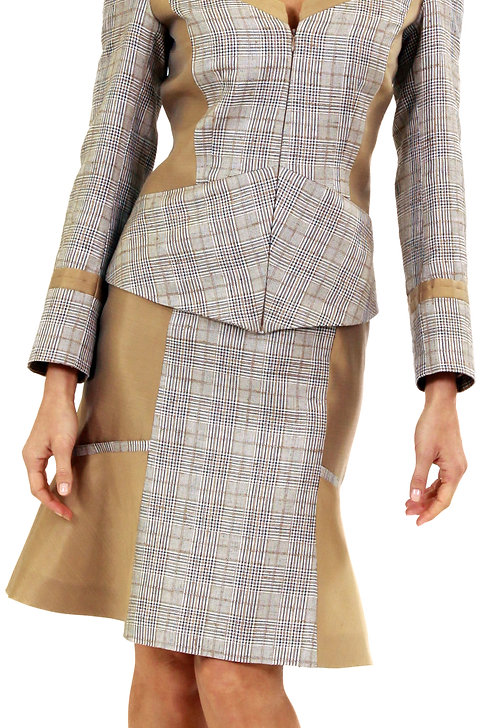 Skirt w/ Flare Panels