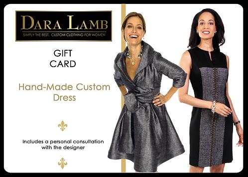 DARA LAMB Gift Certificate - Custom Dress