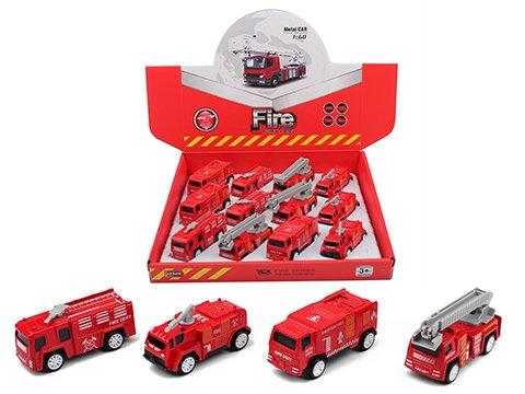 #1078 Model Fire Engine Pullback