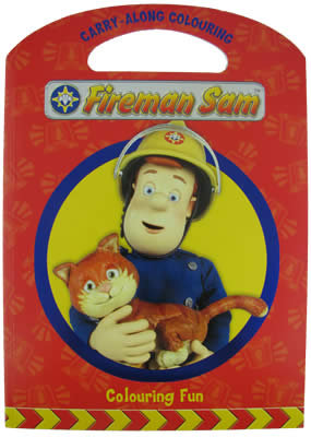 #659 Fireman Sam Colouring Book