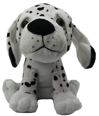 #2083 Dalmatian Large Head Soft Toy