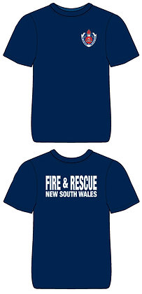 #1265 T-Shirt Restricted Fire & Rescue NSW Issue