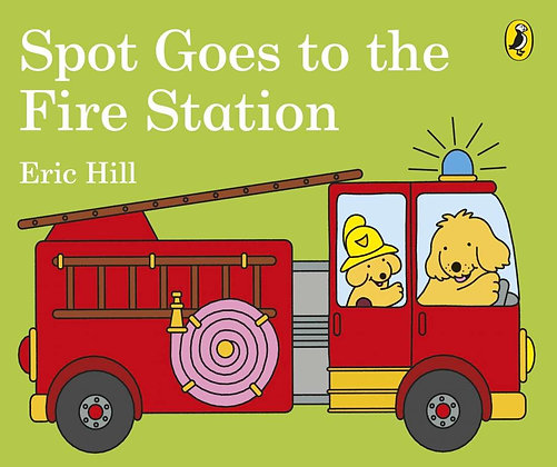#1230 Spot goes to the Fire Station