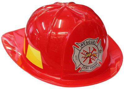 #1121 Red Plastic Helmet