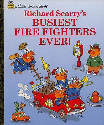 #2189 Little Golden Book Busiest Firefighters Ever
