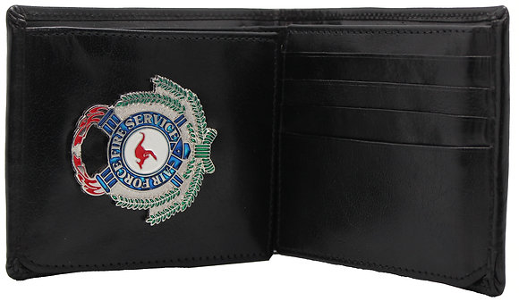 #250W RAAF Fire Service Traditional 12 Card Wallet