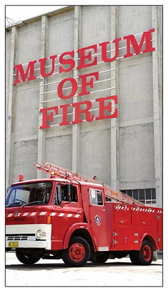 #1006 Magnet Museum Of Fire 1969 Ford