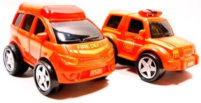 #2081 Friction Fire Engine
