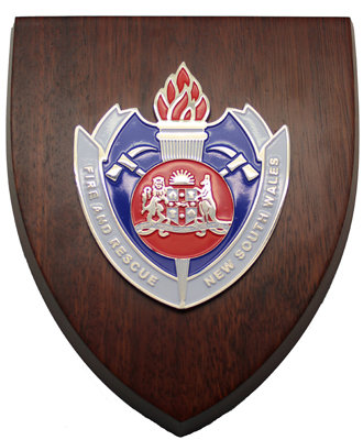 #1355 Wall Plaque Fire & Rescue NSW