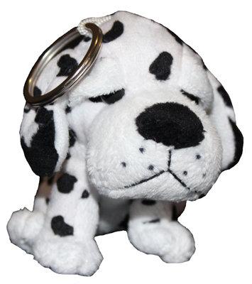 #1077 Keyring Dalmatian Puppy