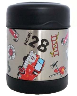#2176 Fire Truck Food Jar