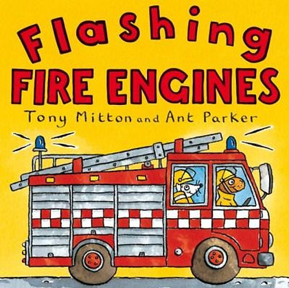 #1207 Flashing Fire Engines Book