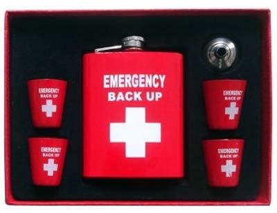 #1022 Emergency Hip Flask