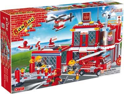#2155 Blocks Fire Station