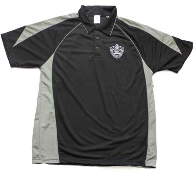 #2111 Black FRNSW Polo Shirt