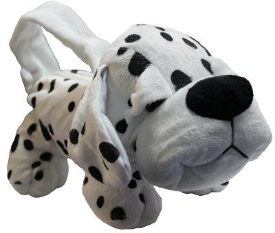 #1028 Bag Dalmatian Puppy with Zipper