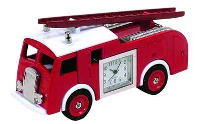 #1031 Fire Engine Clock