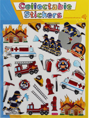 #2050 Assorted Pack of 24 Stickers
