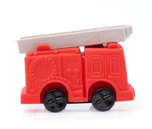 #2267 Eraser Fire Engine Grey Ladder