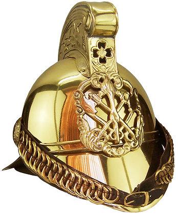 #1588 Merryweather Import Brass Helmet