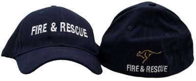 #1176 Cap Unifit Fire & Rescue + Kangaroo
