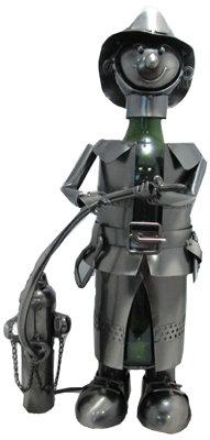 #1049 Metal Firefighter Bottle Holder