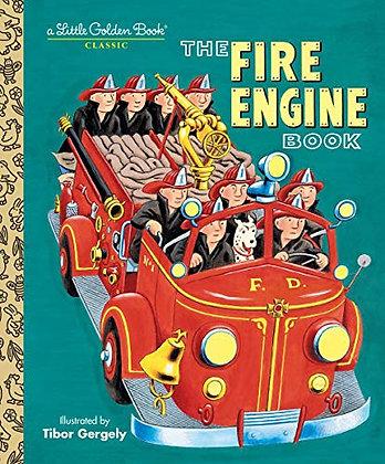#1241 Little Golden Board Book Fire Engine Book