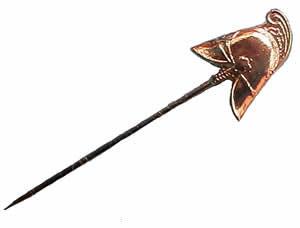 #491, Badge Brass Helmet