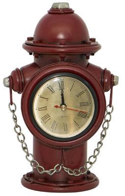 #1024 Fire Hydrant Clock + Money Box