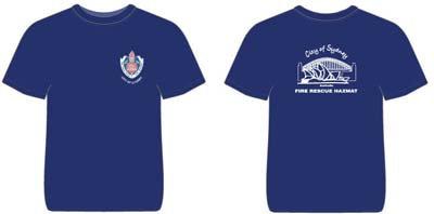#1243, T-Shirt Adult City of Sydney Fire Station