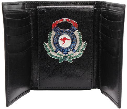 #244W Tri-fold RAAF Fire Service Wallet