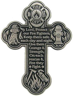 #1317 Wall Prayer Cross