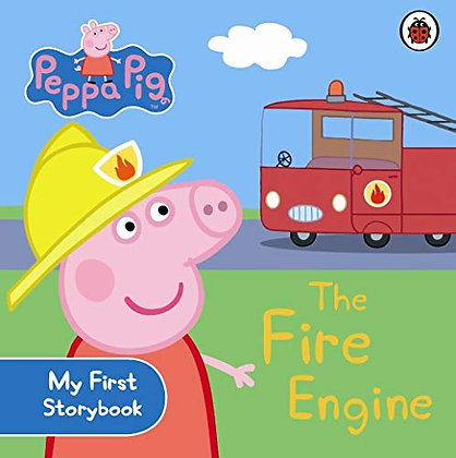 #1233 Peppa Pig: The Fire Engine Book