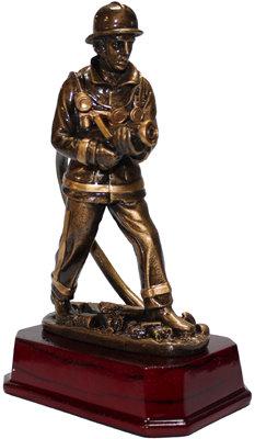 #1416 Firefighter Figurine Trophy