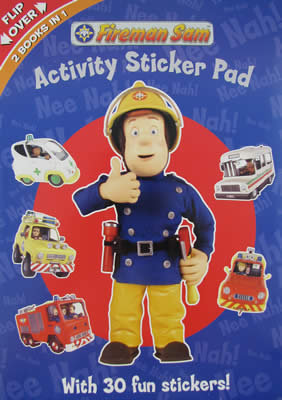 #688 Fireman Sam Activity Pad