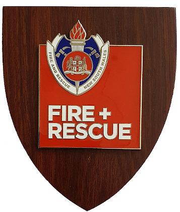 #9946 Fire + Rescue Plaque