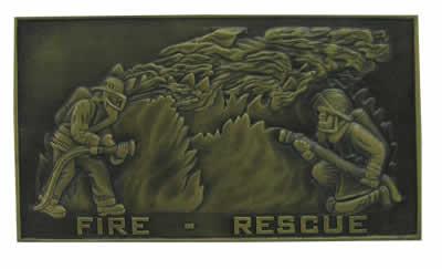 #647 Trophy Mount Fire Rescue Scene