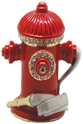 #1067 Trinket Box - Fire Hydrant