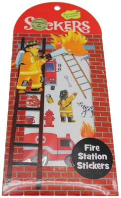 #1321 Fire Station Stickers