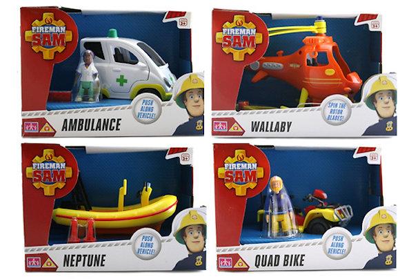 #2092 Fireman Sam Assorted Vehicles