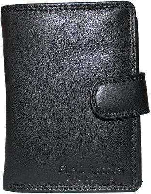#1019 Wallet Ladies Black 15 Card