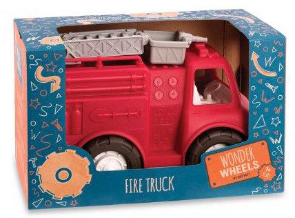 #1042 Wonder Wheels Fire Truck 1 yrs+