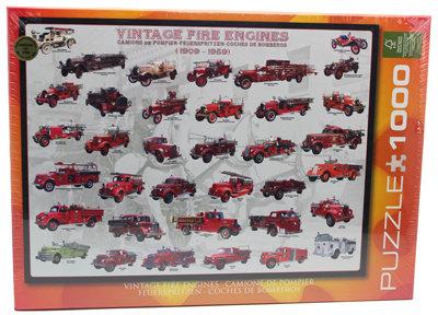 #334 Vintage Fire Engine puzzle