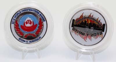 #2162 Medallion World Firefighter Games 2012